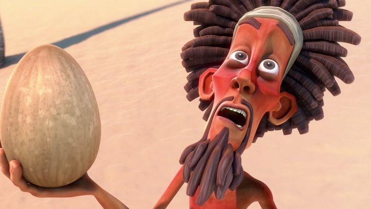 Full Movie HD Cartoon - Robinson Crusoe 3D Animation Short Film // Cute film....wish it was in English, but it's still funny