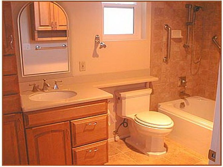 14 best ideas about bathroom ideas for small spaces on pinterest small bathroom remodeling - Pinterest small space ideas paint ...