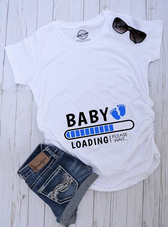 8a8f0f18bc Baby lauding maternity t-shirt | maternity top | baby shower t-shirt | its  a boy maternity tee | its a girl maternity tee | maternity shirt
