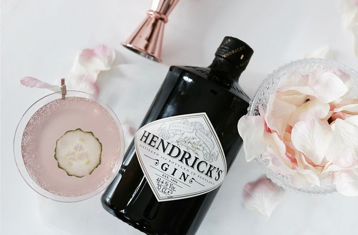 Harry Potter Love potion inspired cocktail. Hendricks gin, fentimans rose lemonade and muddled cucumber and a rose petal to garnish.
