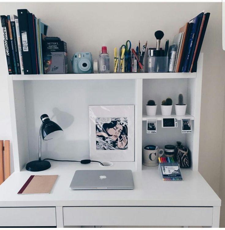I Like The Top Shelf In 2020 Study Room Decor Desk Organization Room Decor
