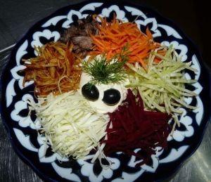 Салат крабовый с пекинской капустой