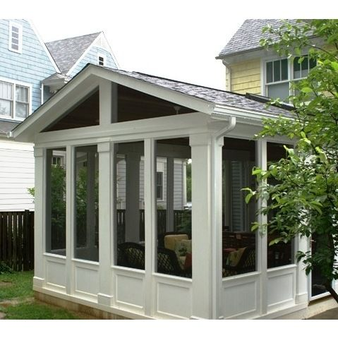 Top 25 best sunroom addition ideas on pinterest for Screen room addition plans