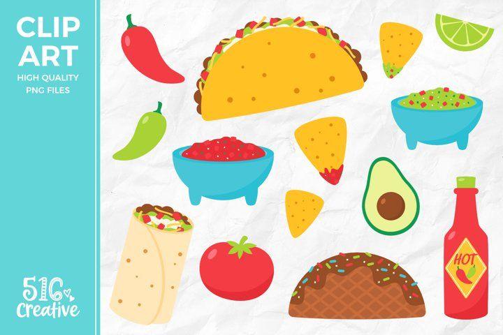 Pin By Misha Design On Graphics Clip Art Taco Clipart Illustration Design