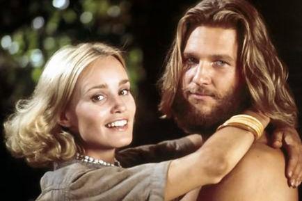 "Jeff Bridges & Jessica Lange en ""King Kong"""