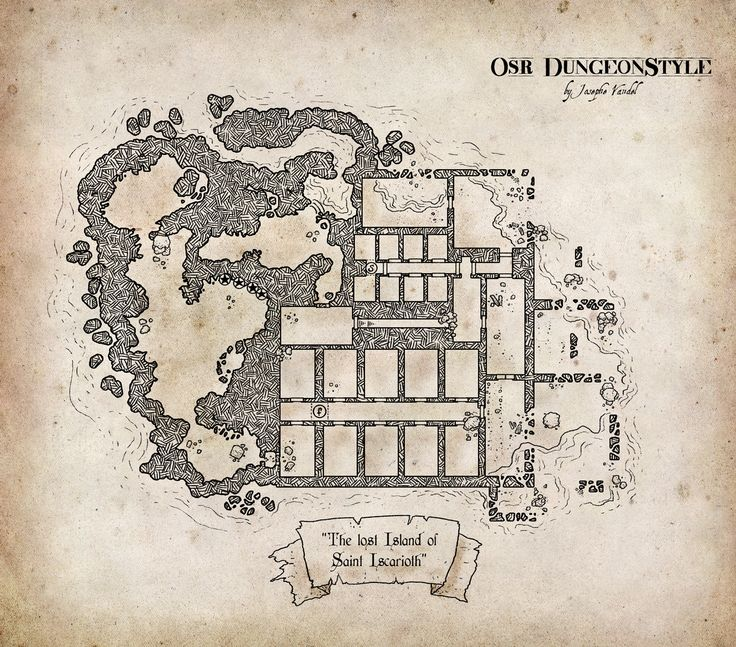 The Lost Isle of Saint Iscarioth, yes the eastern edge of the Keep is in water, so make it yours...