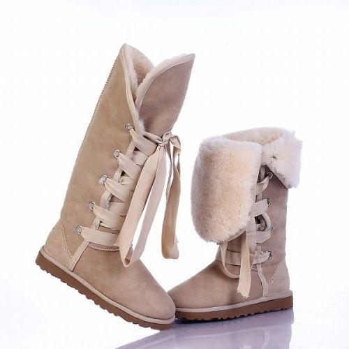 Ugg Roxy Tall Boots 5818 Light Sand