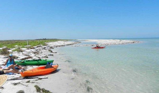 Caladesi Island, a wild beach that is even better by kayak