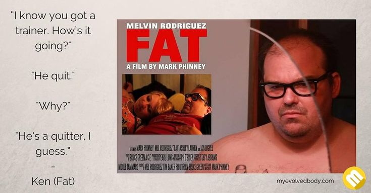 Ken is obese and living a very unhealthy lifestyle. His best friend Terry is concerned that he is on his way to an early grave. He tries to help him to lose weight with the help of a trainer and a dietitian. These efforts prove worthless as Ken does whatever he wants until a life-changing chance encounter that just might provide the motivation he needs.