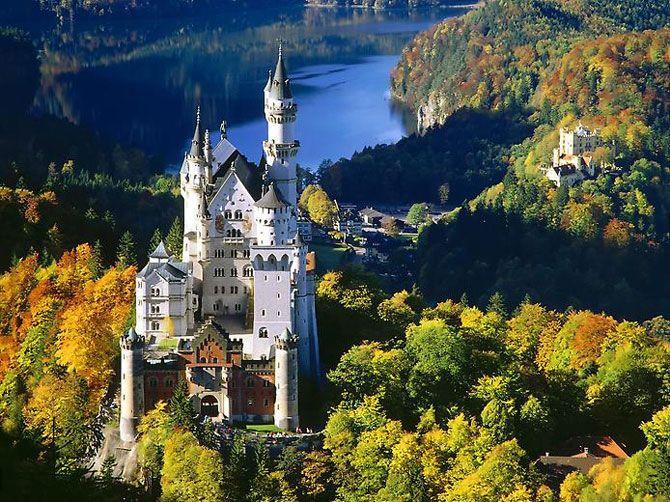 Мистическая красота замка Нойшванштайн