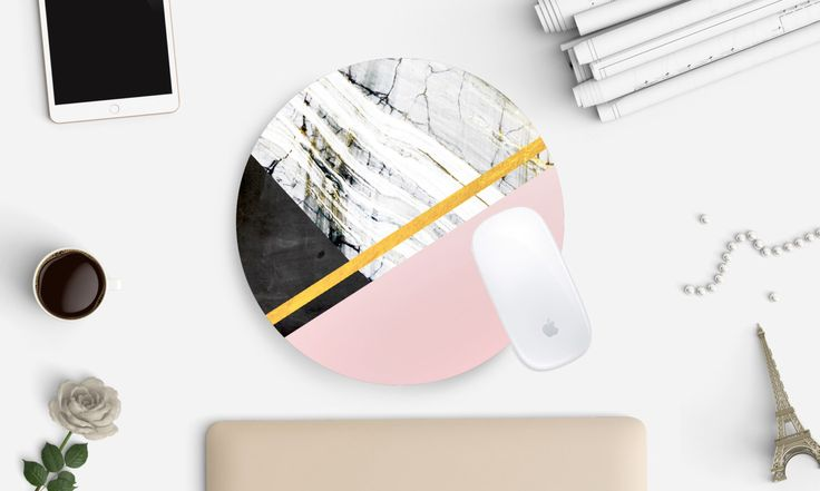 Marble Mousepad, Marble Mouse Pad, Mouse Pad, Desk Accessories, Desk, Home Office, Modern Office, Mousepad,  Mousepads,  Home Decor by afterimages on Etsy https://www.etsy.com/listing/280288986/marble-mousepad-marble-mouse-pad-mouse