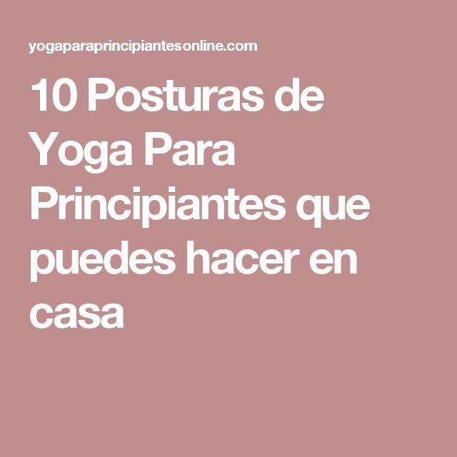 M s de 25 ideas incre bles sobre posturas de yoga para - Hacer meditacion en casa ...