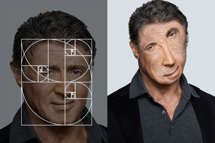 "Fibonacci Sequence Makes ""Perfect"" Celebrity Portraits 