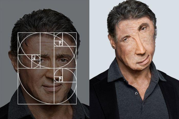 De Fibonacci-reeks maakt 'perfecte' portretten van beroemdheden | The Creators Project