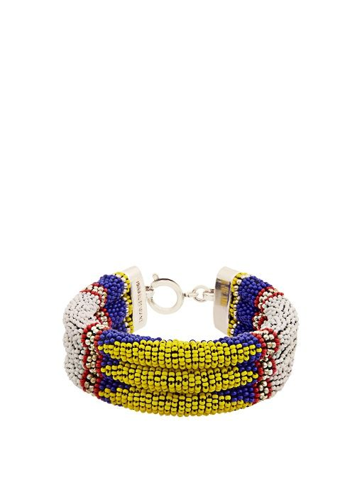 ISABEL MARANT Ska beaded bracelet. #isabelmarant #bracelet