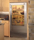 Sub-Zero See-Through Refrigerators : TreeHugger
