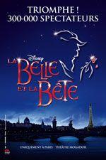 Musical - La Belle et la Bete - Theatre Mogador - jusqu'au 27/07/2014