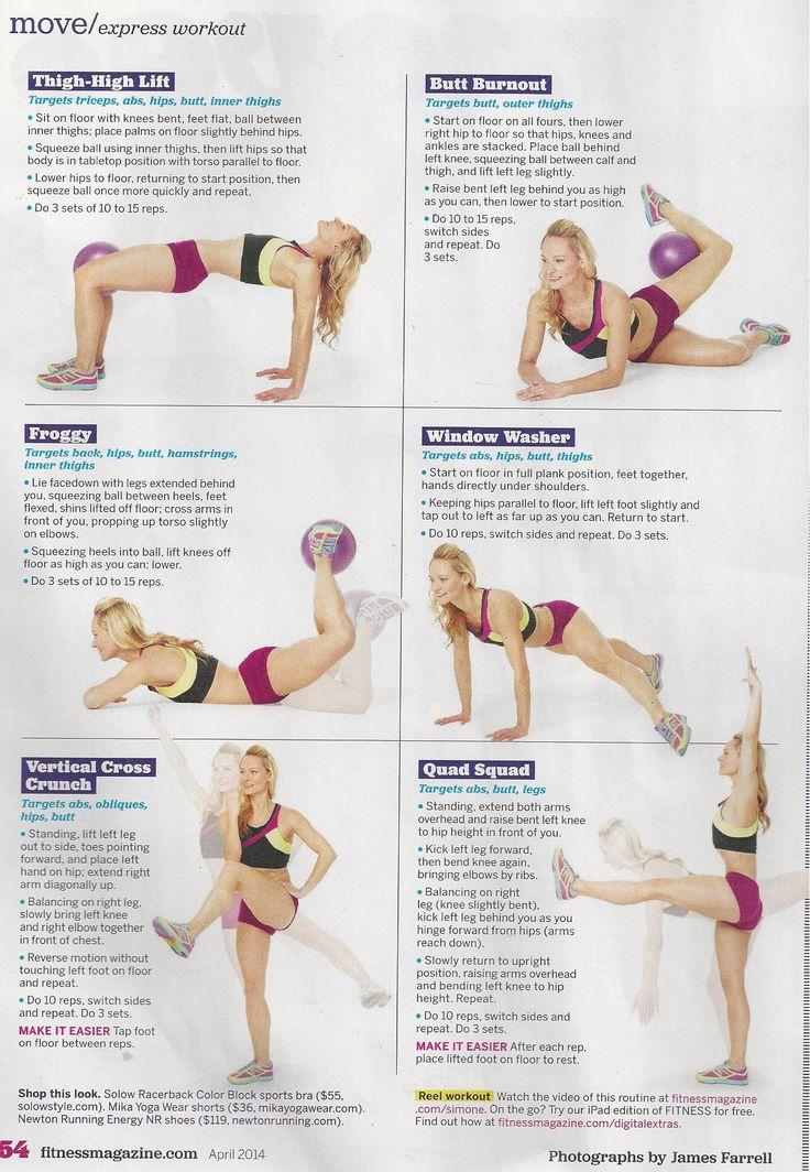 The amazing Simone De La Rue in Fitness magazine.  www.brooklynfitchick.com