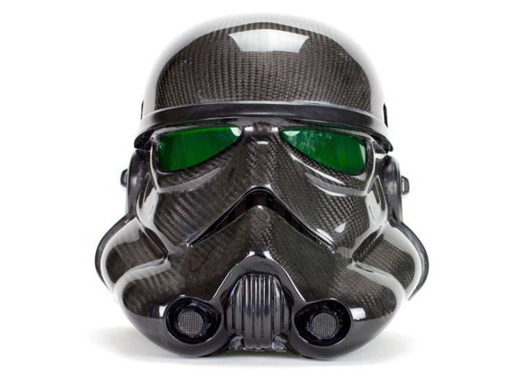 The Story Of The Stormtrooper Carbon Fiber Helmet