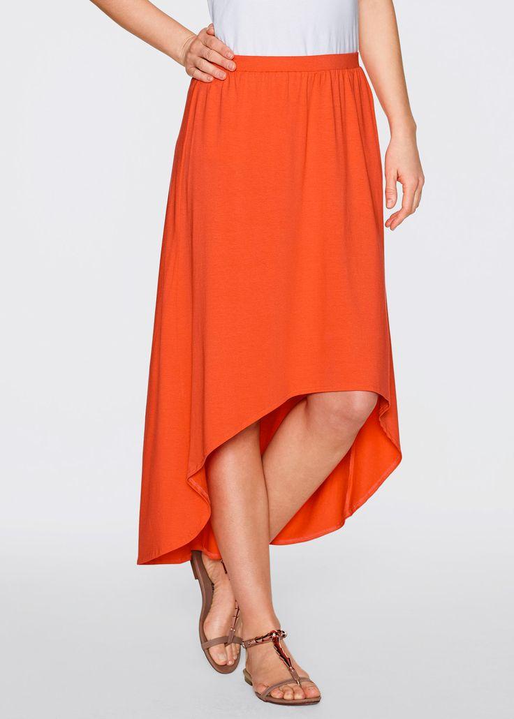 Ben je opzoek naar iets opvallends?? Ga dan voor deze rok.... Deze oranje rok met leuke twist is van de bpc bonprix collection en hier te koop vanaf: € 17,99