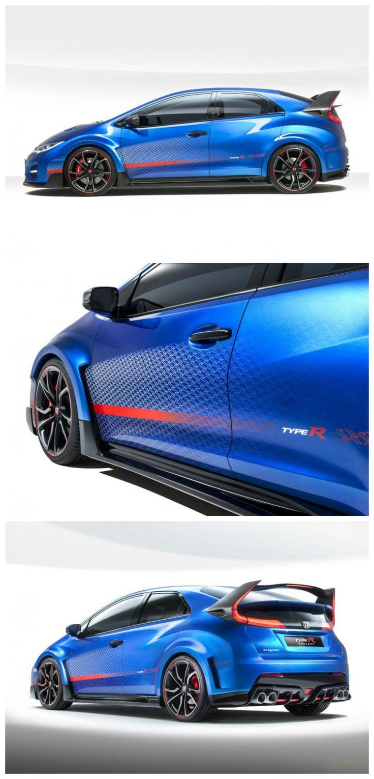 Honda civic type r concept parisautoshow