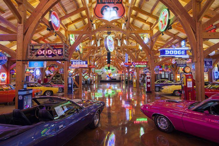 Texas Timber Frames | Hemi Hideout Car Barn
