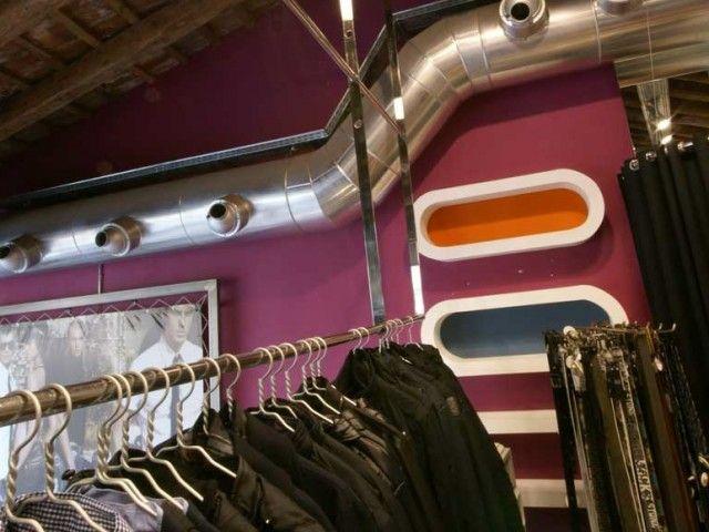 Tienda de ropa en Amposta. Decoración Alado