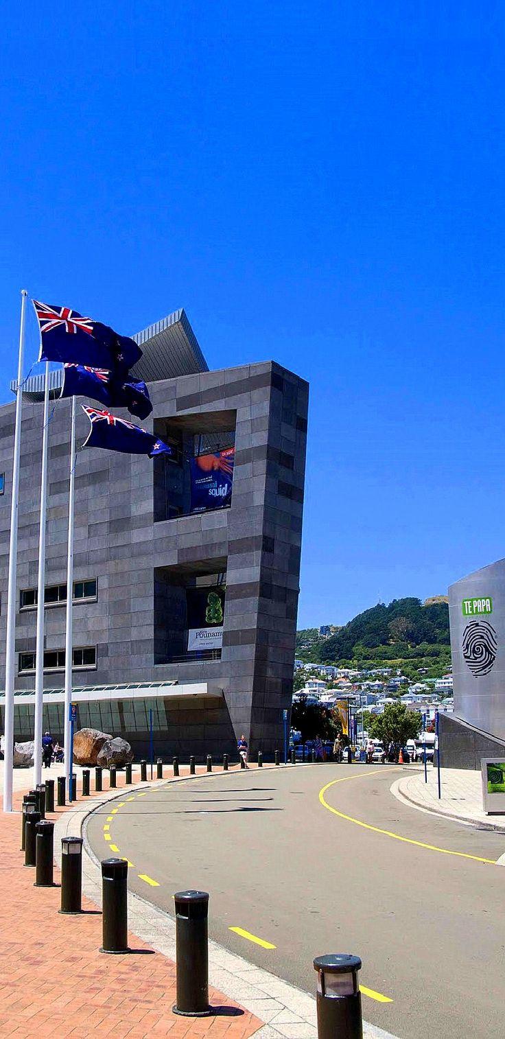 Te Papa - National Museum of Welington, New Zealand