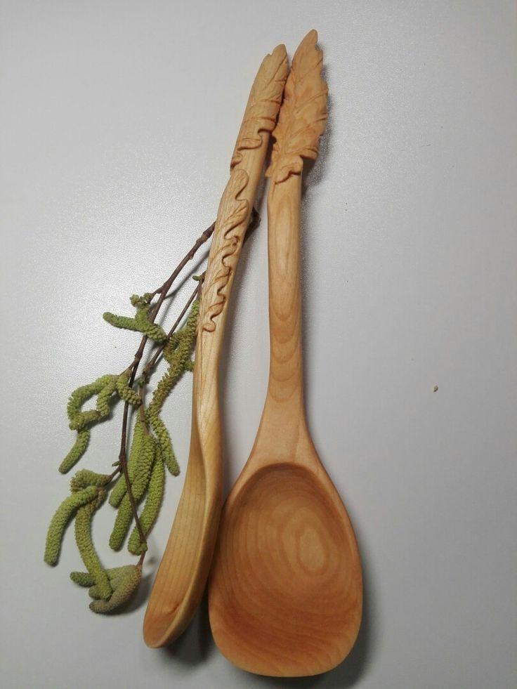 Кухонные деревянные ложки