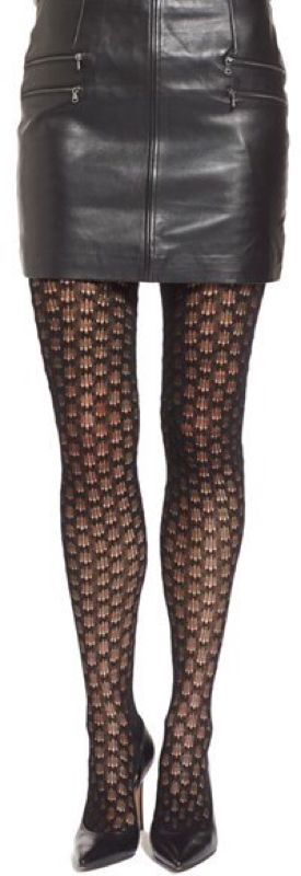FALKE 'DOILY' WOOL BLEND TIGHTS -  FALKE 'DOILY' WOOL BLEND TIGHTS An intricately knit wool blend lends feminine texture and warmth to any cold-weather look.