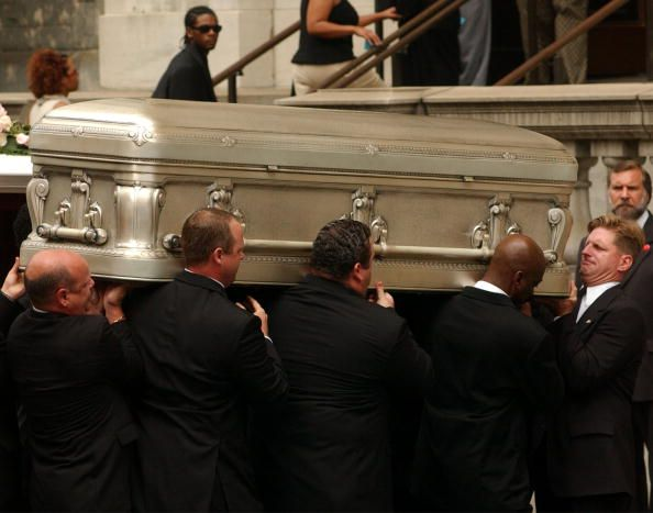 Aaliyah funeral in NY