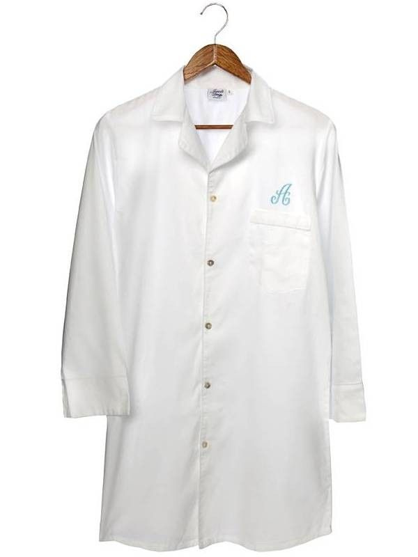 a5fea181b1 Monogrammed nightshirts are great ideas for bridal parties and showers.  Just inquire for details!  monogram  nightshirt  jacarandaliving  cotton