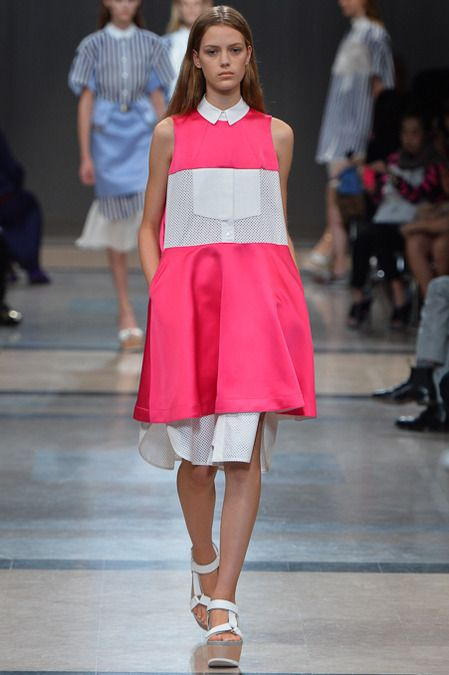 Sacai Spring 2014 Ready-to-Wear Collection Slideshow on Style.com