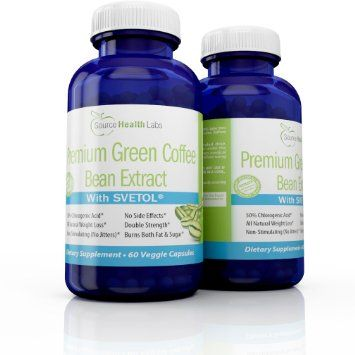 Amazon.com: SVETOL® Green Coffee Bean Extract - Clinically Proven Weight Loss Supplement - 2 Bottles: Health & Personal Care