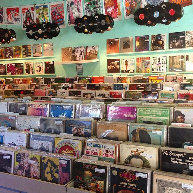 Best Record Shops in America. One from home and they others a must visit.
