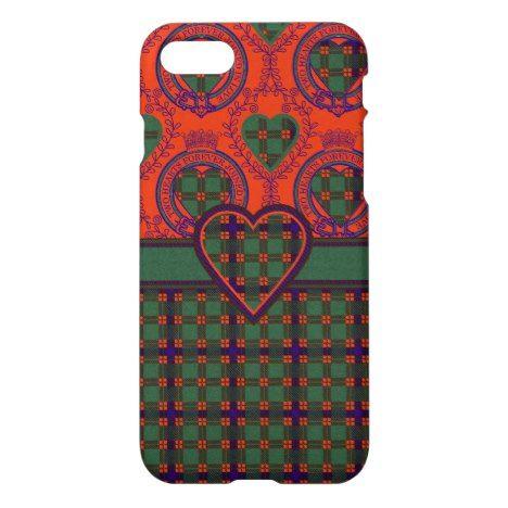 Dis clan Plaid Scottish kilt tartan iPhone 8/7 Case #tartan #protective #cases