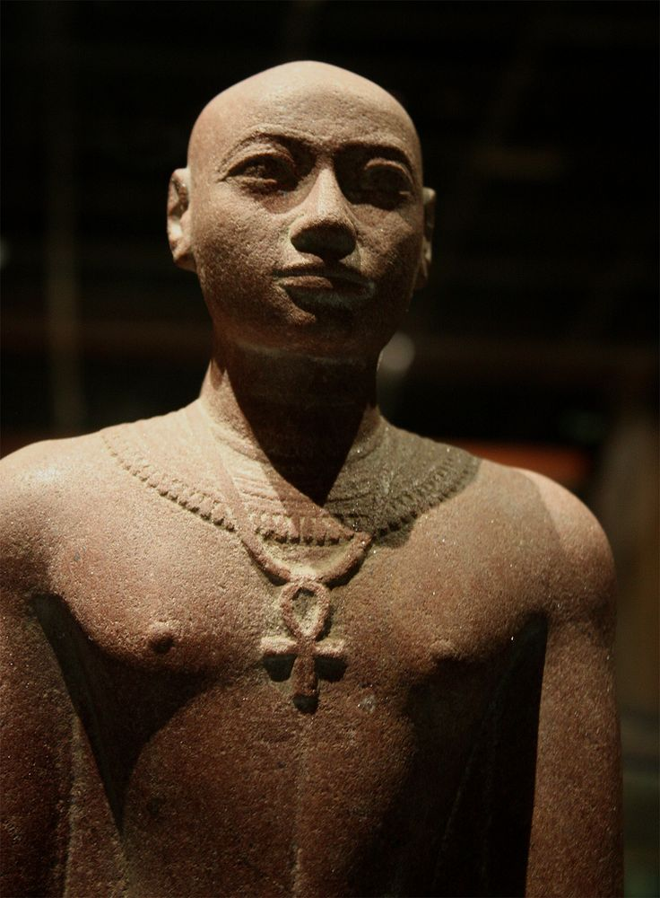 Statue of Prince Horemakhet (701-690 BC) - Son of King Shabaka and High Priest of Amun in Thebes during the reign of his father and his two successors. Nubia Museum, Aswan, Egypt