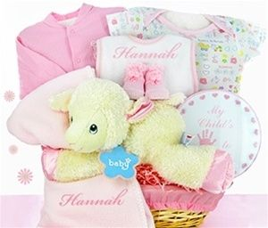 28 best girls baby gift baskets images on pinterest baby girl lamby nap time gift basket girl negle Image collections