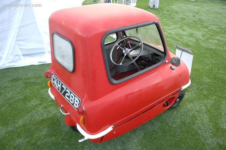 1965 Peel P50 Possibly the smallest car we have ever seen! Check out the size of the wheels!