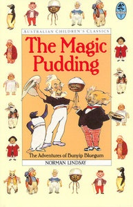 The Magic Pudding is a children's classic written and illustrated by Australian artist Norman Lindsay (1879 - 1969).