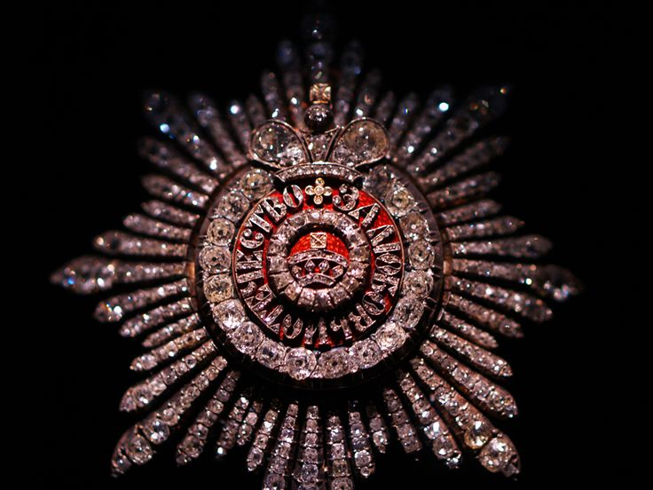 Diamond Star of the Grand Class of the Order of St. Catherine.