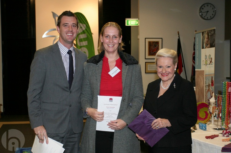 WIB Graduation 2012 - Diana Holwerda / Owner of PA on the GO and Co-Director of Mum Entrepreneurs