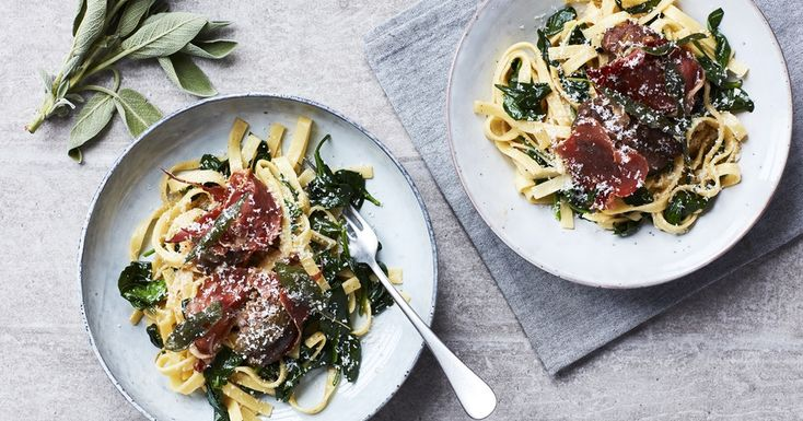 Braiserede svinekæber i pasta | Netto