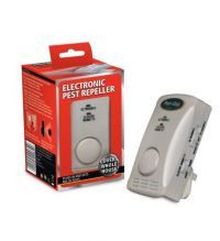 £24.99 - Pest Stop Ultrasonic 2000   The electronic pest repeller that covers the whole house (up to 2000 sq ft).  Pest-Stop 2000 is a proven best seller, effective against mice, rats, ants and most other crawling insects