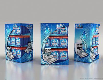 """Finish ürün standı / product display / posm stand"" http://be.net/gallery/52284647/Finish-ueruen-stand-product-display-posm-stand"