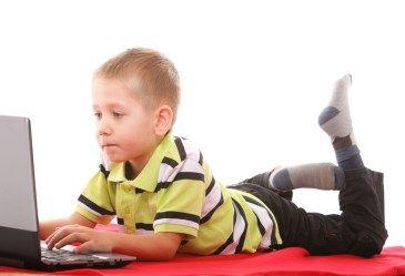 Online games & learning websites.