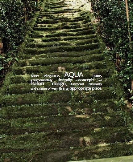 Aqua is not only a kitchen model but a culture. | Aqua, per Aran, non è solo un modello: è una cultura.