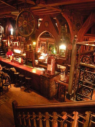 "The Quays Pub ~ Galway, Ireland  Look for an American dollar with ""Kaley Anthony Justin Jenny Lauren Eric Zach and Molly"""