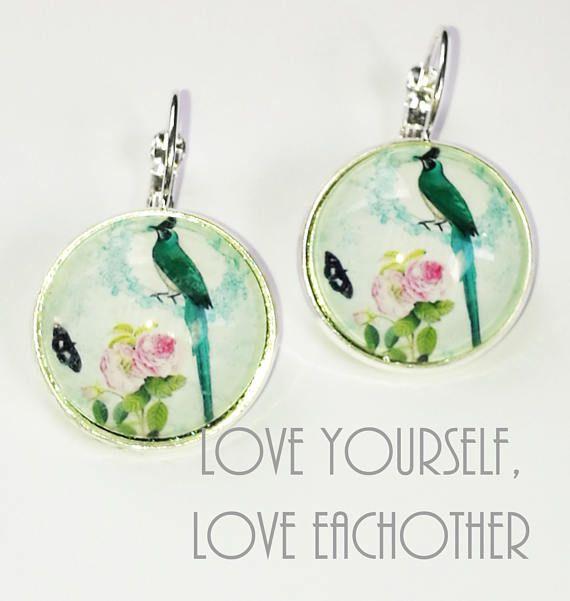 Bekijk dit items in mijn Etsy shop https://www.etsy.com/nl/listing/537943782/bird-earrings-mwl