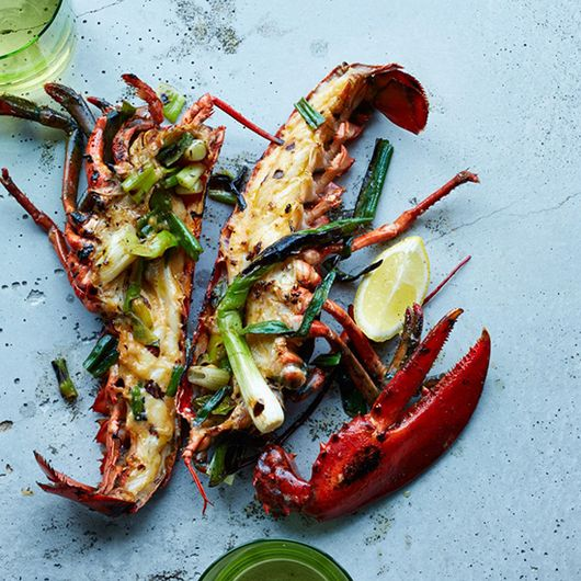 How to Grill Lobster